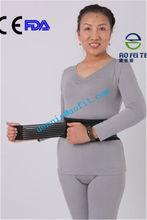 hot style new negative ion bio electricity back support brace belt elastic waist lumbar protection