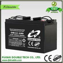 Deep cycle battery/12v 100ah,high rate capacity,solar battery