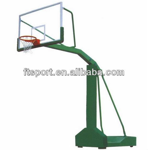 "Basketball Pole with UV Resistance backboard(72""*42"")"