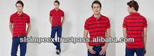 New Branded Stylish Cool Sporty Boys Mens Collar half T Shirt