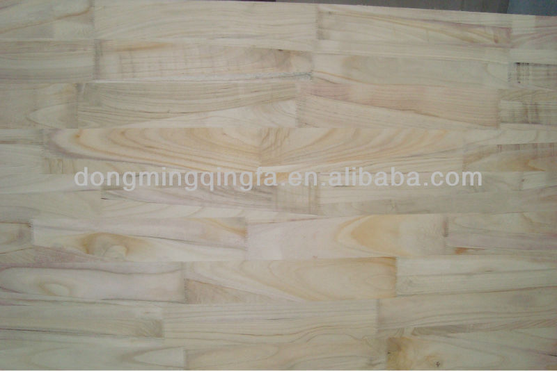 paulownia finger jointed wood boards
