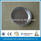 kitchen use aluminium foil round cake/pizza baking pans/plates/rays