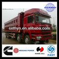 Shacman d- long f3000 8x4 construção usado basculante scania