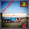 Factory Single walled 58.3CBM LPG tanker semi trailer truch trailer fo sale