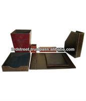 Leather office Desk