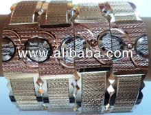 Brass Mashine cut micron finish bangles