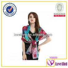 2014 New Digital Print indian wool shawl