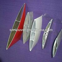 Aluminum extrusion section louer