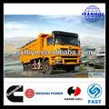 شنشى d-- لونغ f3000 6*4 euro3 10 طن قلابة شاحنة قلابة أفضل من سكانيا