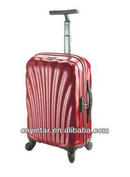 100%PC sky travel luggage bag
