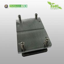 Computer used CPU square aluminium heat sink