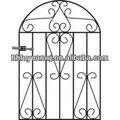 galvanizado y recubierto de polvo de hierro de cercas y puertas utilizados en la granja o el jardín con precio competitivo