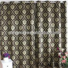 2015 European style luxury latest curtain design window curtain