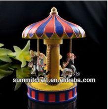 Lovers Park carousel sankyo music boxes mexico souvenirs