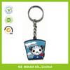 Plastic Key Ring/good quality soft pvc keychain/rubber keychain