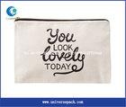 100%cotton canvas dust bag with zipper