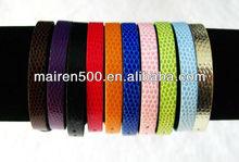 free shipping 8MM snake pattern DIY slide letter charm bracelets (0087)