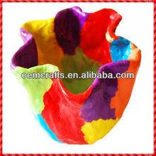 2013 di alta qualità di incredibile ceramica fiore artificiale muro fioriera
