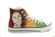 canvas shoes printed Lower and cheap price wholesale vulcanized or injection