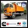 Venda quente! Shaanqi pesados- dever caminhão d- long f2000 6*4 euro3 caminhões basculantes de maior qualidade que mitsubishi fuso dump truck