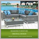 HOT SALE!!!poly rattan modern furniture rattan sofa luxury corner sofa