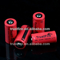 trustfire 16340 imr battery 3.7v 700mAh 16340 mod battery ecig e-firefly battery