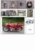 CJ750 Motorcycle Engine Parts Black Star Comp 4 Stroke