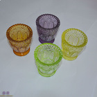 wholesale crystal glass votive candle holders