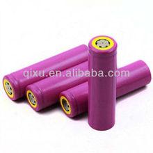 3.7v li-ion rechargeable batteries sanyo battery 18650 3000mah