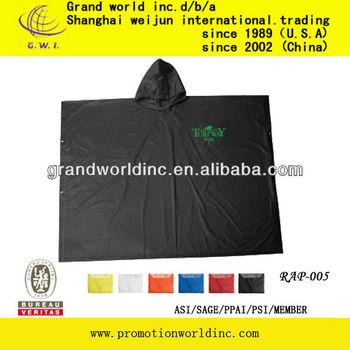 practical rain poncho for travel