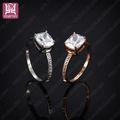 Grande y brillante diamante anillos de bodas dubai