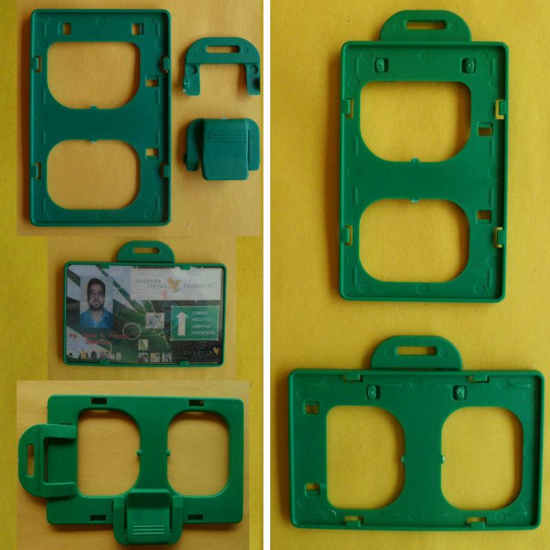 ID Card Badge Holder Horizontal and Vertical (Porta Carnet)