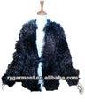 Áo khoác mùa đông cho phụ nữ lông thú giả xoăn