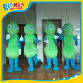 y duro trabajo de hormigas verde traje para los niños