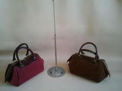2013 Fashion Woman Fashion Suede & PU Leather Bag