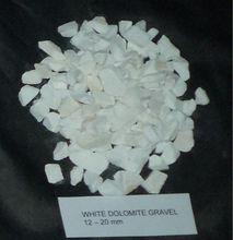 Marble chips 99 % CaC03 ,White DOLOMITE Gravel