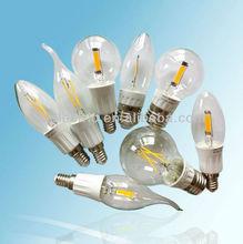 New e14 e27 2w 3w 4w 5w 6w 7w COB led bulb filament
