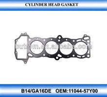 Cylinder head gasket for nissan sunny B14/GA16DE 11044-57Y00