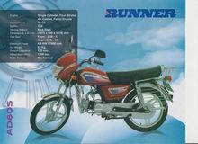 Brand new RUNNER AD 80S motorcycle