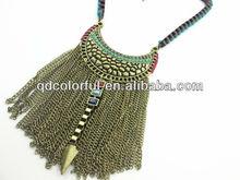 YN9114 make different tassel neck fashion jewell