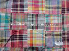 2015 check and stripe fabric