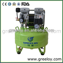 Extremely Silent Air Compressor with One 0.5HP Motor