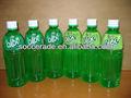 500ml jugo de aloe vera en botella de plástico redondo
