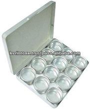 2014 New latest small metal hinged lid tin box
