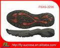 Nuovo 2013 cina escursionismo suole di scarpe, escursionismo suola scarpe, trekking scarpe suole
