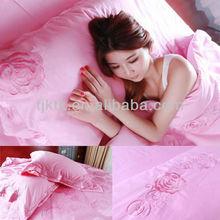 2013 varies family pattern tourmaline Pink twin bedding set/Bedding set 4 pcs