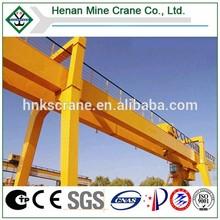 Dual Beam Gantry Crane Traveling Steel Rail