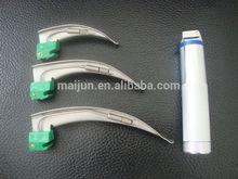 single use conventional bulb laryngoscope macintosh style