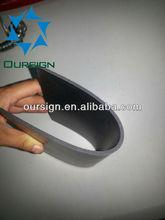 Flexible Black PVC Plastic Sheet