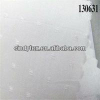 jacquard spot drapery solid color cotton silk fabric